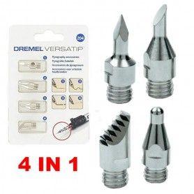 DREMEL 204 Σετ Πυρογραφίας 4τμχ - 26150204JA