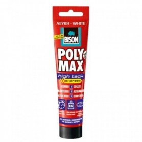 BISON Polymax High Tack Express 165gr Κόλλα - Σιλικόνη Λευκή