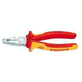 KNIPEX Πένσα ηλεκτρολόγων - 180mm (0306180)
