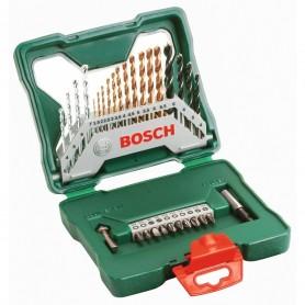 BOSCH Σετ τρυπανιών 30 τμχ τιτανίου/μετάλλου/ξύλου/μπετού (2607019324)
