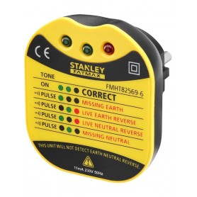 STANLEY FMHT82569-6 Πρίζα ελέγχου ορθής καλωδίωσης