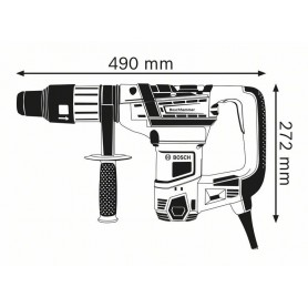 BOSCH GBH 5-40 D Professional Περιστροφικό πιστολέτο με SDS max (0611269001)