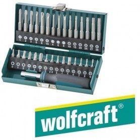 WOLFCRAFT (1386000) σετ μυτες ειδικές 31τεμ σε μεταλλική κασετίνα