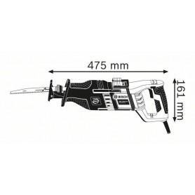 BOSCH GSA 1300 PCE Professional Σπαθόσεγα - 060164E200