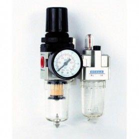 """BULLE 41915 Ρυθμιστής Με Υδατοπαγίδα και Ελαιωτήρας Mini FR+L 1/4"""" -"""