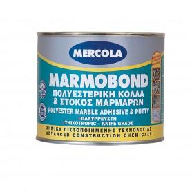 Mercola Marmobond πολυεστερική κόλλα & στόκος μαρμάρων και γρανιτών 500gr