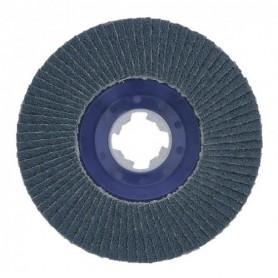 BOSCH Δίσκοι με φύλλα X-LOCK, ευθείς, πλαστική πλάκα, Ø 125 mm, G 80, X571, Best for Metal, 1 τεμάχιο