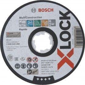 BOSCH Δίσκοι κοπής X-LOCK Multi Construction