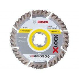 BOSCH Διαμαντόδισκοι κοπής X-LOCK Standard for Universal 125x22.23x1.6x10mm