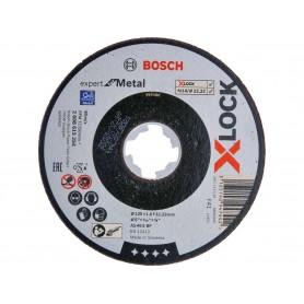 BOSCH Δίσκοι κοπής X-LOCK Expert for Metal 125x1.6x22.23mm