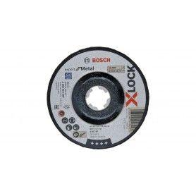 BOSCH X-LOCK ΔΙΣΚΟΣ ΛΕΙΑΝΣΗΣ ΜΕΤΑΛΛΟΥ 125x6x22.23mm Expert for Metal ΜΕ ΚΟΥΡΜΠΑ