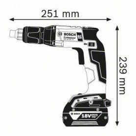 BOSCH GSR 18 V-EC TE Κατσαβίδι γυψοσανίδων μπαταρίας  (SOLO)