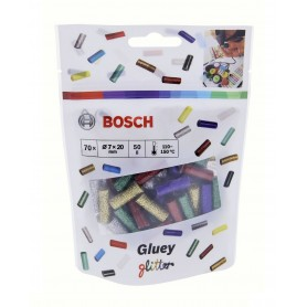 BOSCH Mini-Sticks Glitter Ανταλλακτικά Φυσίγγια 70 Τεμ.