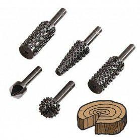 WOLFCRAFT Φρέζες δραπάνου για ξύλα και μή σιδηρούχα μέταλλα (2540000 )