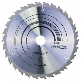 BOSCH Πριονόδισκοι Speedline Wood 235x30mm 30 Δόντια