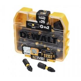 DEWALT DT7055T ΜΥΤΕΣ PHILLIPS IMPACT TORSION - PH2x25mm (25ΤΜΧ)
