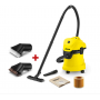 KARCHER WD3 + ΔΩΡΟ ΒΟΥΡΤΣΕΣ ΑΝΑΡΡΟΦΗΣΗΣ (Suction Brush Kit) + ΔΩΡΟ ΣΑΚΟΥΛΕΣ