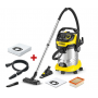 KARCHER WD6P PREMIUM + ΔΩΡΟ Συλλέκτης σκόνης(Drill Dust) + ΔΩΡΟ Σακούλες