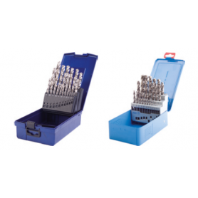 PTG Σετ τρυπανιών 25τμχ ,1,0-13,0 / 0,5mm DIN 338 τύπου VA HSS-Co5, Profiline