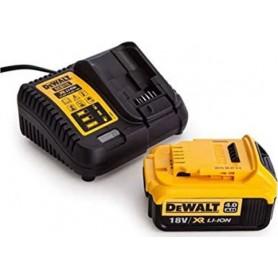 DEWALT - DCB182 +DCB115 ΜΠΑΤΑΡΙA 4.0AH + XR 18V ΦΟΡΤΙΣΤΗΣ