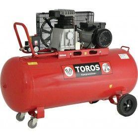 TOROS DH-30150/10 ΑΕΡΟΣΥΜΠΙΕΣΤΗΣ ΜΕ ΙΜΑΝΤΑ 240V 150L 3HP